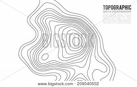 Topographic map contour background vector photo bigstock topographic map contour background topo map with elevation contour map vector geographic world gumiabroncs Images