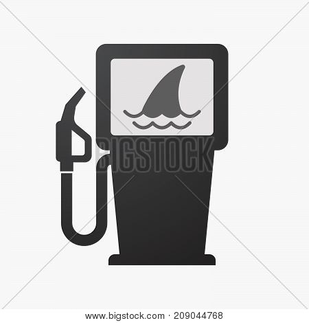 Isolated Fuel Pump With A Shark Fin