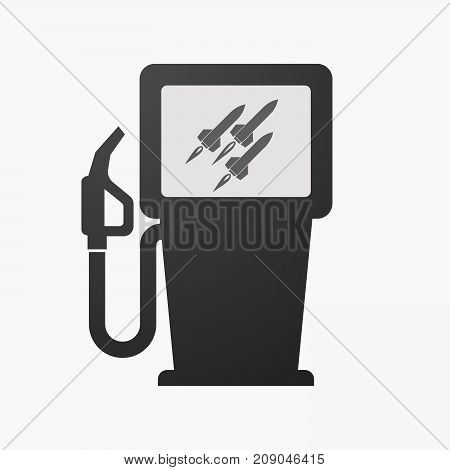 Isolated Fuel Pump With Missiles