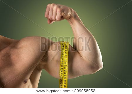 Man With Great Biceps