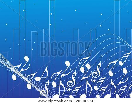 abstract musical notes background abstract background