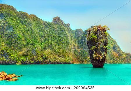 Rock James Bond Island, Thailand