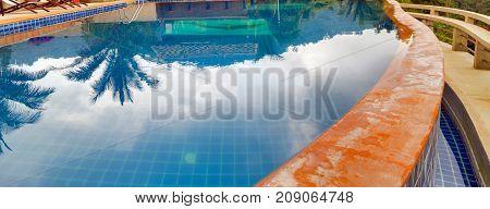 swimming pool in resorts landmark travel holiday