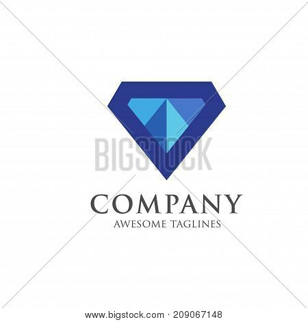 creative vector Diamond, gem logo premium, Premium quality diamond vector