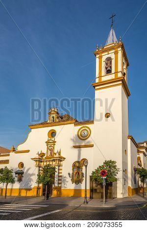 Santa Maria Magdalena church in Dos Hermanas town near Sevilla in Spain