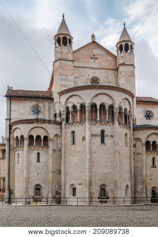 Modena Cathedral is a Roman Catholic Romanesque church in Modena Italy. Consecrated in 1184 it is an important Romanesque building in Europe and a World Heritage Site. Apse