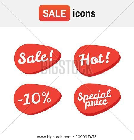 Price Tag Ticket. Sale Tickets Vector Collection. Coupon And Buy, Tag And Price