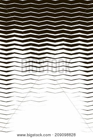 Minimalistic design. Halfton cover A4 format. Halftone wave vector concentric lines modern business background. Vertical simple cover for presentation network computer technology clean background.