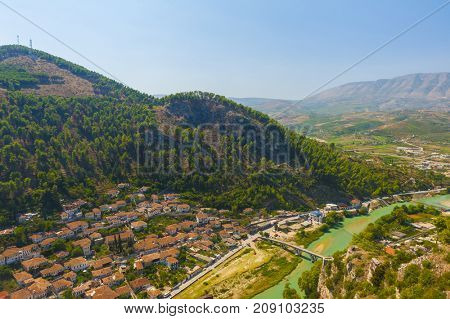 Old Albanian town of Berat is one of the well-known UNESCO landmarks of the country.