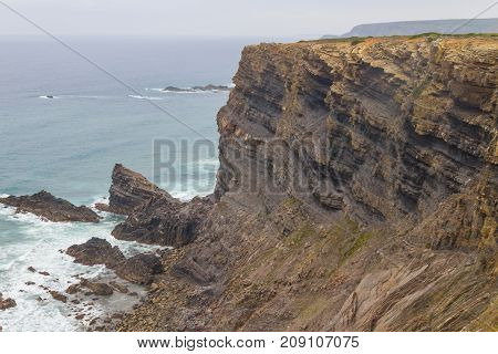 Clifs In Cabo De Sao Vicente
