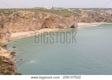 Beliche Beach In Sagres, Algarve, Portugal