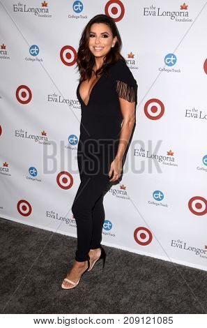 LOS ANGELES - OCT 12:  Eva Longoria at the Eva Longoria Foundation Annual Dinner at the Four Seasons Hotel on October 12, 2017 in Beverly Hills, CA