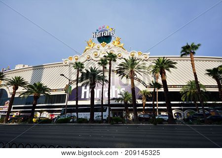 Harrah's Hotel And Casino In Las Vegas.