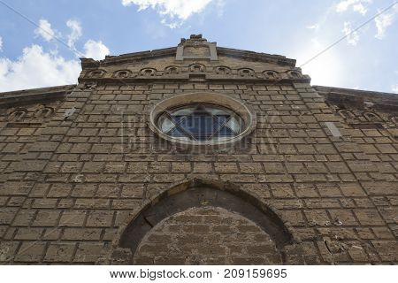 Synagogue Yegiya Capay in the city of Evpatoria, Republic of Crimea, Russia