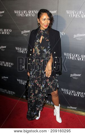 LOS ANGELES - OCT 11:  Taye Hansberry at the What Goes Around Comes Around One Year Anniversary Party at the What Goes Around Comes Around Store on October 11, 2017 in Beverly Hills, CA