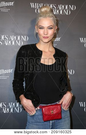 LOS ANGELES - OCT 11:  Karlie Klos at the What Goes Around Comes Around One Year Anniversary Party at the What Goes Around Comes Around Shop on October 11, 2017 in Beverly Hills, CA