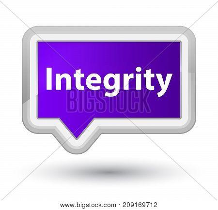 Integrity Prime Purple Banner Button