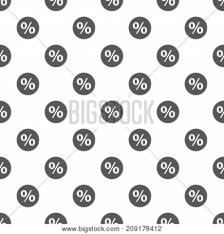 Percent sign pattern seamless. Repeat illustration of percent sign pattern vector geometric for any web design