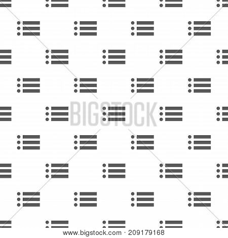 List pattern seamless. Repeat illustration of list pattern vector geometric for any web design