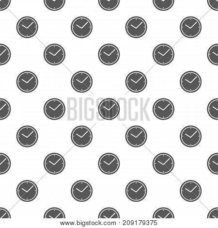Clock pattern seamless. Repeat illustration of clock pattern vector geometric for any web design