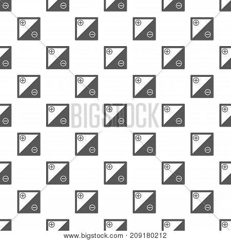 Accumulator pattern seamless. Repeat illustration of accumulator pattern vector geometric for any web design
