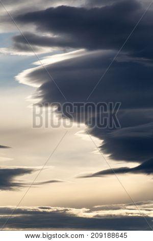 Dramatic Clouds (vertical)