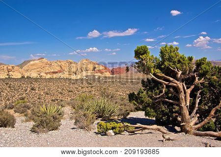 Scenic Red Rock Canyon, Las Vegas, Nevada