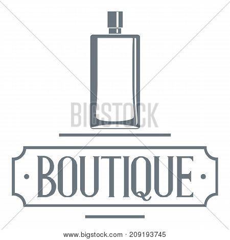 Smell logo. Vintage illustration of smell vector logo for web