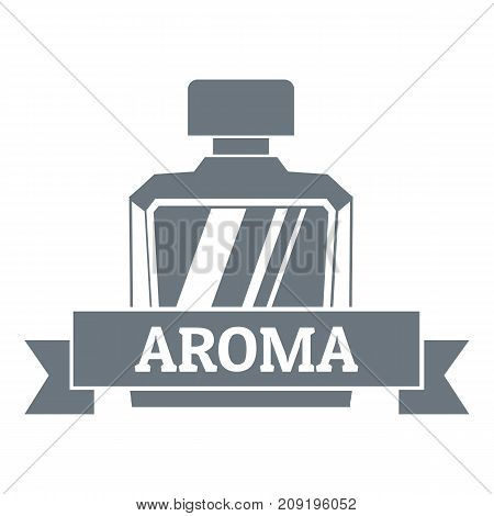 Aroma logo. Vintage illustration of aroma vector logo for web