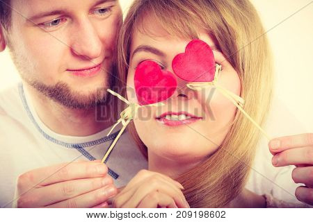 Couple Blinded By Their Love.