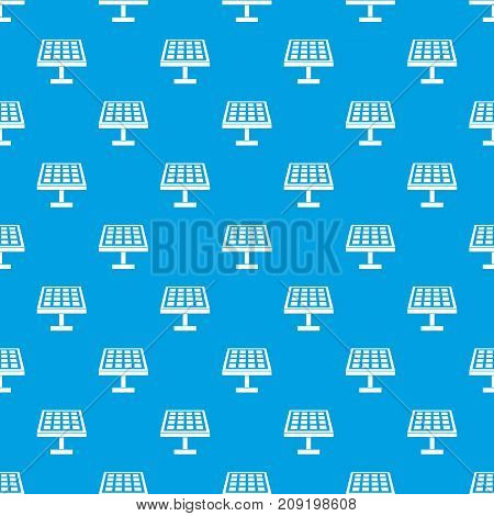 Solar energy panel in simple style isolated on white background vector illustration