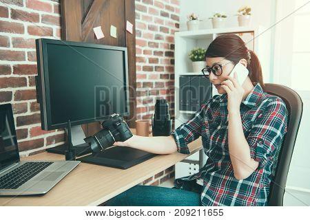 Beauty Professional Female Photo Company Designer