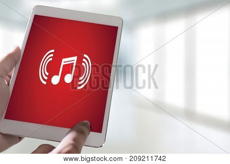 Music Streaming Media Enjoying The Music Entertainment Download