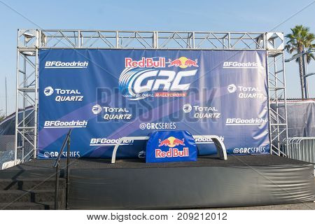 The Podium During The Red Bull Grc