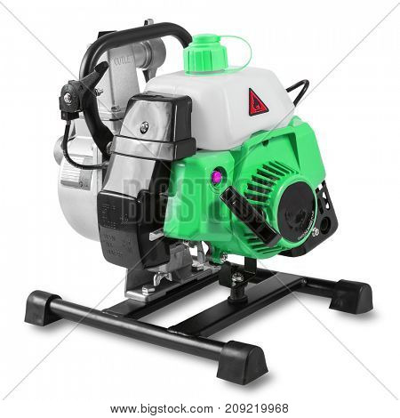Pump for water with the gasoline engine 1