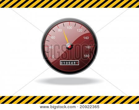 abstract road track background with watch