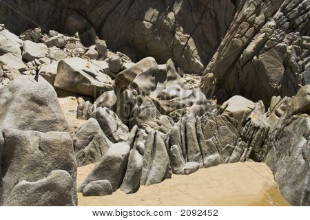 Lover'S Beach Rock Formation F