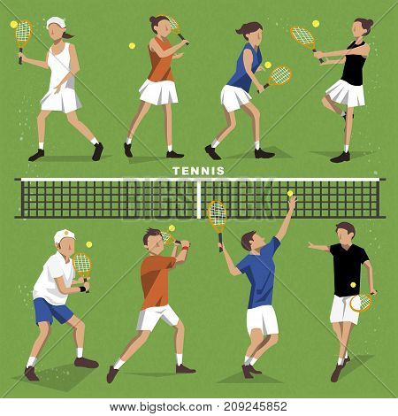 Tennis Players Collection