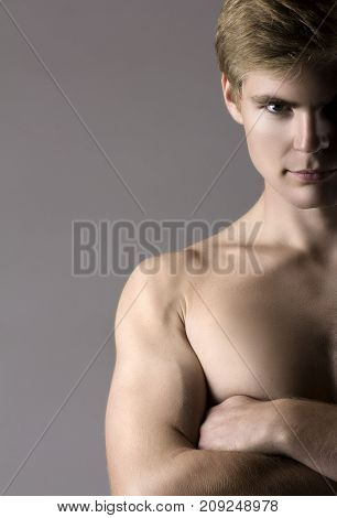 Muscular Caucasian Man