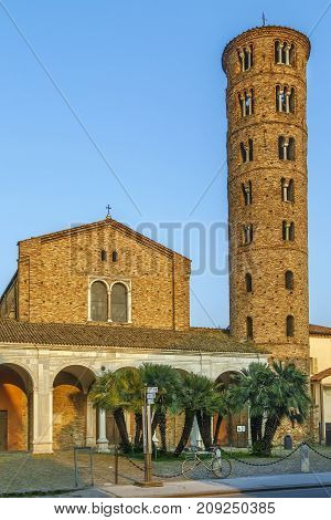 The Basilica of Sant Apollinare Nuovo is a basilica church in Ravenna Italy. It was erected by Ostrogoth King Theodoric the Great as his palace chapel during the first quarter of the 6th century