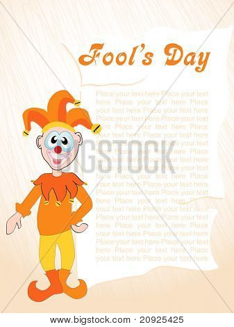 abstract artistic lines with cartoon and sample text