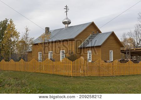 Church of the Transfiguration of the Lord in Spassky Pogost, Tarnogsky District, Vologda Region, Russia