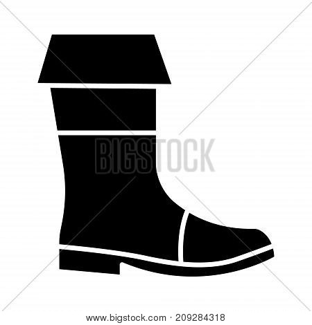 boots fishing icon, illustration, vector sign on isolated background