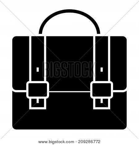 business case - portfolio icon, illustration, vector sign on isolated background