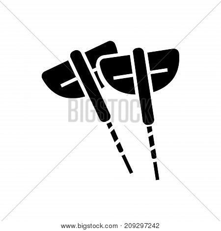 darts icon, illustration, vector sign on isolated background
