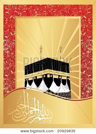 illustration of greeting card, vector illustration
