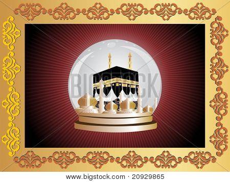 wallpaper for ramadan celebration, vector illustration