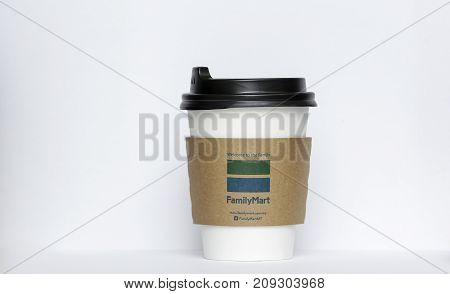 Familymart Paper Cup For Hot Coffee