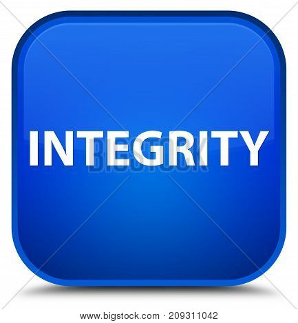 Integrity Special Blue Square Button