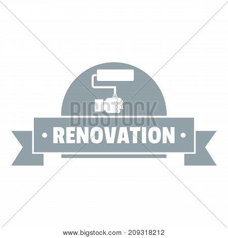 Reconstruction logo. Vintage illustration of reconstruction vector logo for web